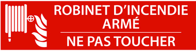 EBCD Signalétique Camping - RN005b Robinet d'incendie armé