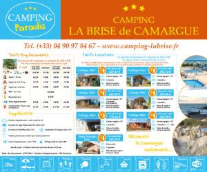 EBCD Signalétique Camping - Camping Paradis - BRISE 2021 Panneau tarif 1500x1250