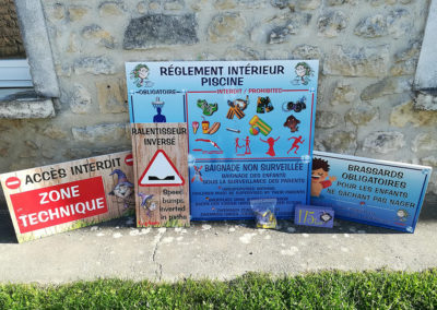 EBCD Signaletique camping - Collection Capfun